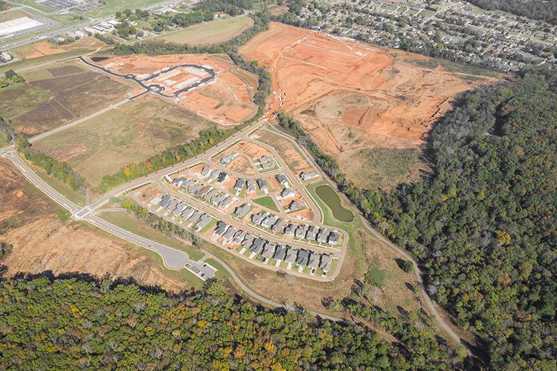Trailhead Aerial View